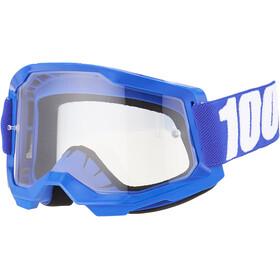 100% Strata Anti-Fog Goggles Gen2 Youth, bleu